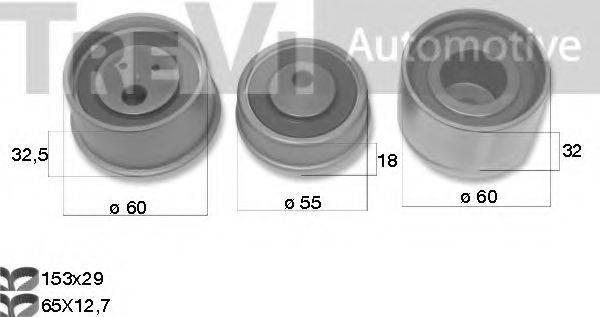 TREVI AUTOMOTIVE KD1484 Комплект ремня ГРМ