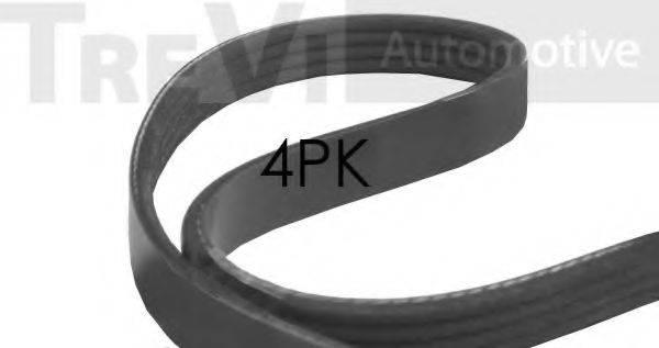 TREVI AUTOMOTIVE 4PK698 Поликлиновой ремень