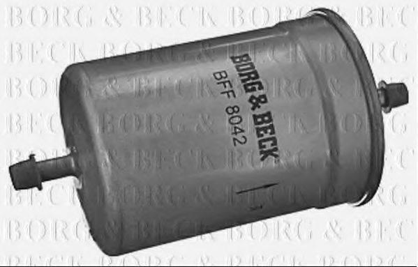 BORG & BECK BFF8042 Топливный фильтр