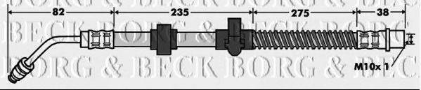 BORG & BECK BBH7518 Тормозной шланг