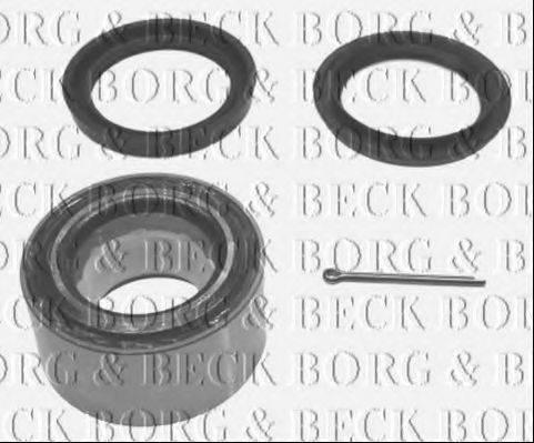 BORG & BECK BWK118 Комплект подшипника ступицы колеса