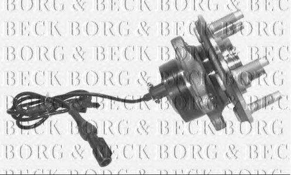 BORG & BECK BWK764 Комплект подшипника ступицы колеса