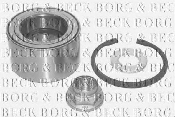 BORG & BECK BWK799 Комплект подшипника ступицы колеса