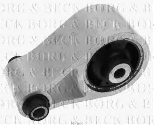 BORG & BECK BEM3670 Подвеска, двигатель