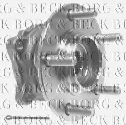 BORG & BECK BWK1146 Комплект подшипника ступицы колеса