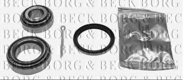 BORG & BECK BWK116 Комплект подшипника ступицы колеса