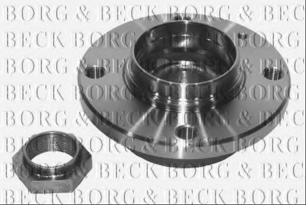 BORG & BECK BWK209 Комплект подшипника ступицы колеса
