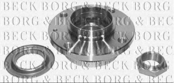 BORG & BECK BWK330 Комплект подшипника ступицы колеса