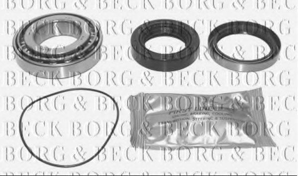 BORG & BECK BWK354 Комплект подшипника ступицы колеса