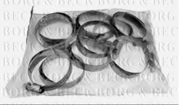 BORG & BECK BHC1002 Хомут, воздушный шланг компрессора