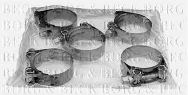 BORG & BECK BHC1104 Хомут, воздушный шланг компрессора