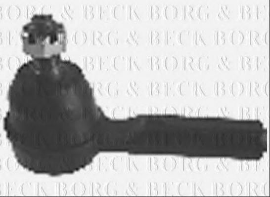 BORG & BECK BTR4328 Наконечник поперечной рулевой тяги