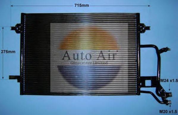 AUTO AIR GLOUCESTER 169561 Конденсатор, кондиционер