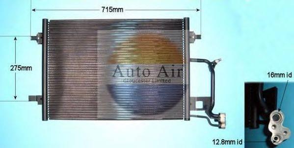 AUTO AIR GLOUCESTER 169565 Конденсатор, кондиционер
