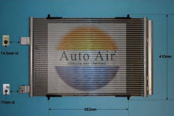 AUTO AIR GLOUCESTER 161984 Конденсатор, кондиционер