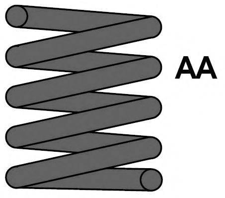 MAXTRAC MC0627 Пружина ходовой части