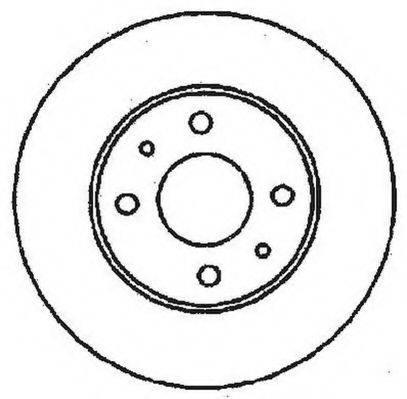 JURID 561402J Тормозной диск