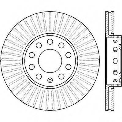 JURID 561548JC Тормозной диск