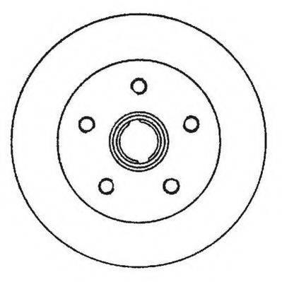 JURID 561982JC Тормозной диск