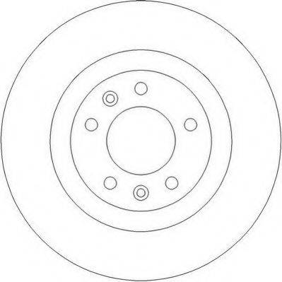 JURID 562253JC Тормозной диск