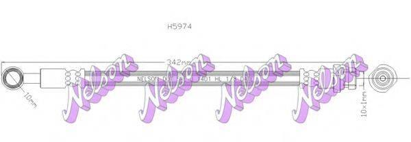 BROVEX-NELSON H5974 Шланг сцепления