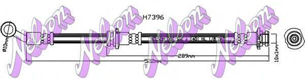 BROVEX-NELSON H7396 Шланг сцепления
