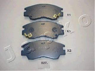 JAPKO 50527P Комплект высокоэффективных тормозных колодок