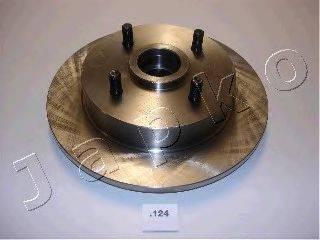 JAPKO 61124 Тормозной диск