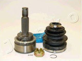 JAPKO 62556 Шарнирный комплект, приводной вал