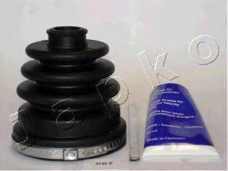JAPKO 63087 Комплект пылника, приводной вал