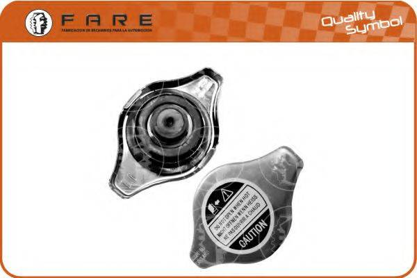 FARE SA 2387 Крышка, радиатор