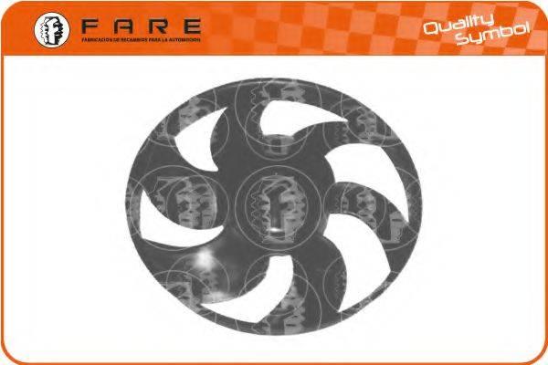 FARE SA V007 Крыльчатка вентилятора, охлаждение двигателя
