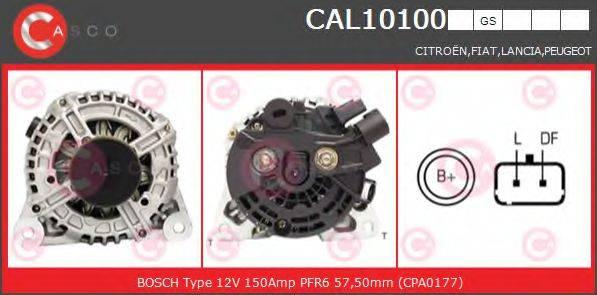 CASCO CAL10100GS Генератор