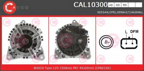 CASCO CAL10300AS Генератор