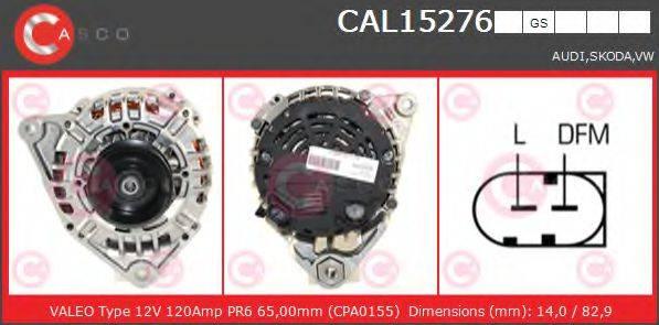 CASCO CAL15276GS Генератор