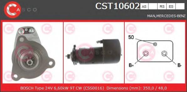 CASCO CST10602AS Стартер