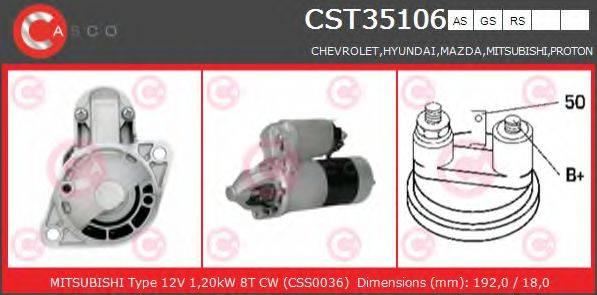 CASCO CST35106AS Стартер