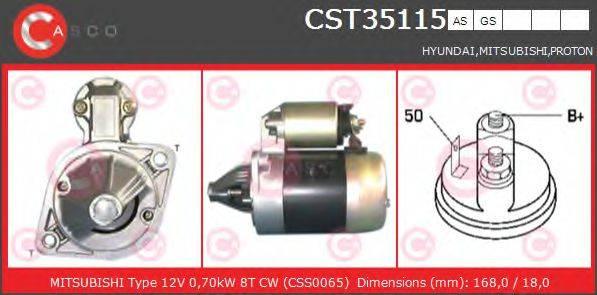 CASCO CST35115AS Стартер