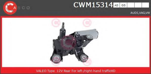 CASCO CWM15314AS Двигатель стеклоочистителя