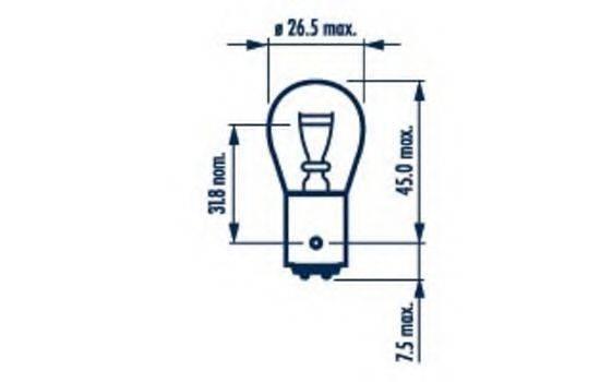 NARVA 17916 Лампа накаливания, фонарь указателя поворота; Лампа накаливания, фонарь сигнала тормож./ задний габ. огонь; Лампа накаливания, фонарь сигнала торможения; Лампа накаливания, задняя противотуманная фара; Лампа накаливания, фара заднего хода; Лампа накаливания, задний гарабитный огонь; Лампа накаливания, стояночные огни / габаритные фонари; Лампа накаливания, фонарь указателя поворота; Лампа накаливания, фонарь сигнала тормож./ задний габ. огонь; Лампа накаливания, фонарь сигнала торможения; Лампа накаливания, задняя противотуманная фара; Лампа накаливания, задний гарабитный огонь; Лампа накаливания, дополнительный фонарь сигнала торможения