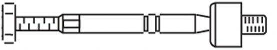 FRAP 3789 Осевой шарнир, рулевая тяга