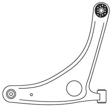 FRAP 3790 Рычаг независимой подвески колеса, подвеска колеса