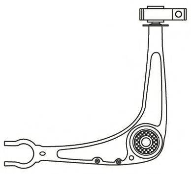 FRAP 3935 Рычаг независимой подвески колеса, подвеска колеса