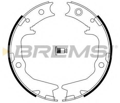 BREMSI GF0826