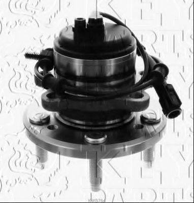 KEY PARTS KWB764 Комплект подшипника ступицы колеса
