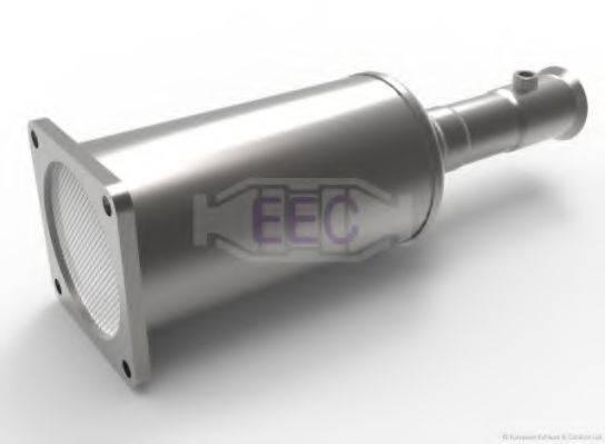 EEC DPF064S Сажевый / частичный фильтр, система выхлопа ОГ