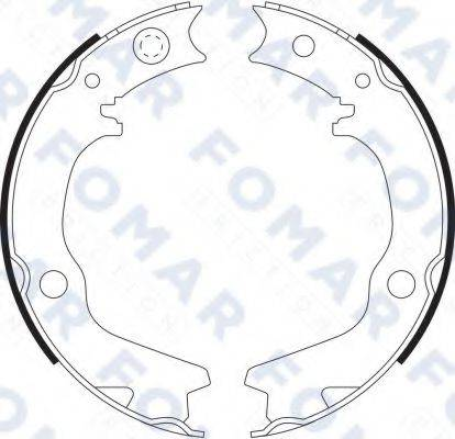 FOMAR FRICTION FO 9078