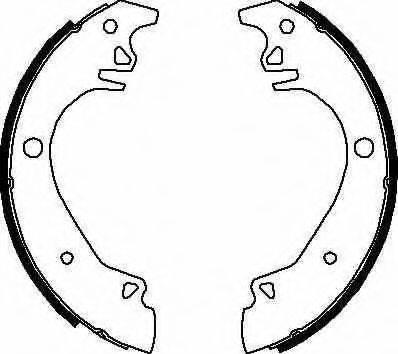 BENDIX 361269B Комплект тормозных колодок