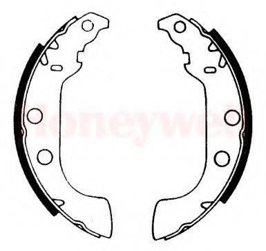 BENDIX 361439B Комплект тормозных колодок