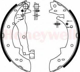 BENDIX 362248B Комплект тормозных колодок